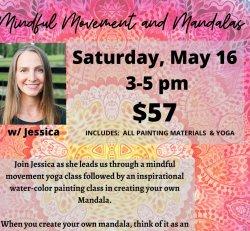 Mindful Movements & Mandalas w/ Jessica