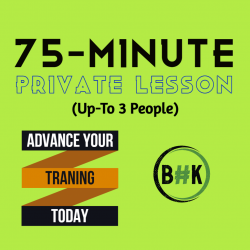 75-Minute Private (Up to 3 people)
