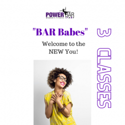 3 Pack of BAR Babes Classes | 1 hour drop in