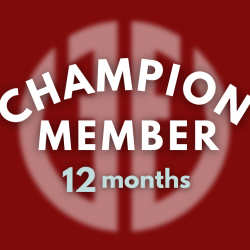 Champion 2021 Package (12 Month Membership)