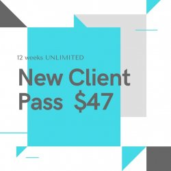 2 Weeks Unlimited Pass - New Clients Only
