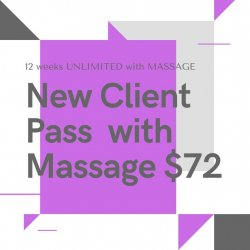 New Client Special with Massage!