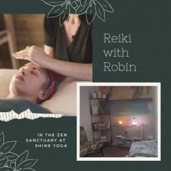 Reiki with Robin - half hour