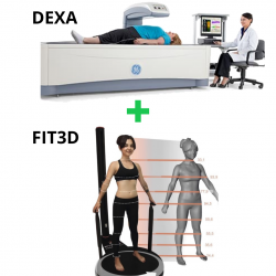 DEXA Scan + FIT3D Laser Scan