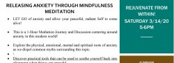 Releasing Anxiety Through Mindfulness Meditation