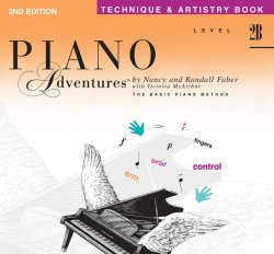 Piano Adventures: Level 2B Technique & Artistry Book, (2nd Ed)
