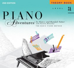 Piano Adventures: Level 3A Theory Book, (2nd Ed)