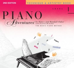 Piano Adventures: Level 1 Technique & Artistry Book, (2nd Ed)