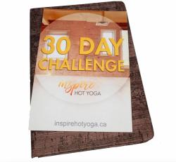 Inspire 30 Day Challenge Journal