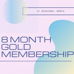 8 Month GOLD Membership