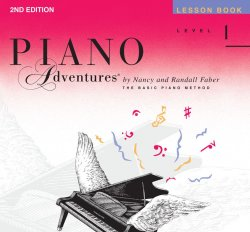 Piano Adventures: Level 1 Lesson Book, (2nd Ed)