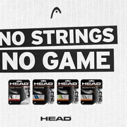 Racquet Stringing - Head synthetic