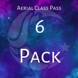 Aerial Class Pass- 6 Classes