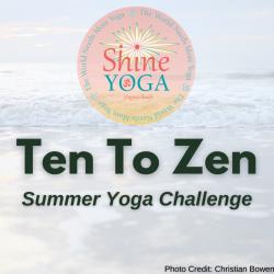 Ten Weeks to Zen Summer Yoga Challenge