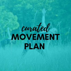 Curated Movement Plan (3-months) - Virtual