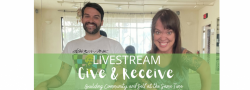Give and Receive: Building Community and Self at the Same Time LIVESTREAM