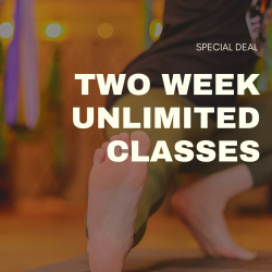 Two Weeks Unlimited Class Pass Special