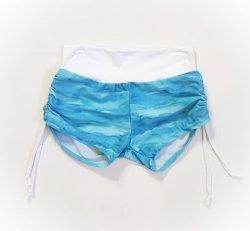 XS Side Tie Shorts - Water Blue