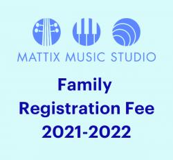 Family Registration Fee - Non Refundable