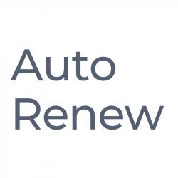 Auto Renew Membership