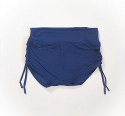 Lg Seamless Front with Ties - Soft Navy