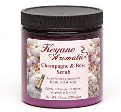 Champagne & Rose Scrub 10oz