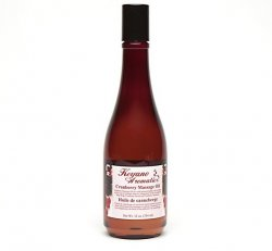 Cranberry Massage Oil 12 oz