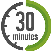 30 Minute Express Session -20 pack