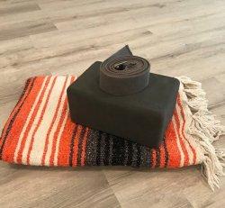 Block, Blanket, Strap Bundle