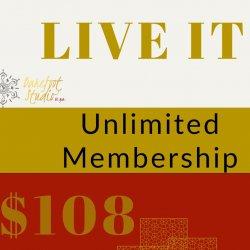 LIVE IT -  Unlimited Membership