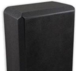 """109  Yoga Block (black):  Studio 4""""  (4"""" x 6"""" x 9"""")"""