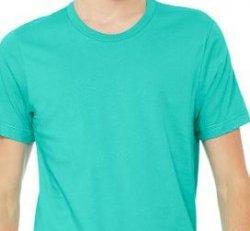 295:  Short Sleeve Heather TShirt - Sea Green (X-Large)