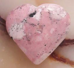 Rhodonite Heart Crystal