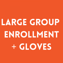 GROUP REGISTRATION WITH BOXING GLOVES