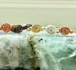Spiral Rings- Assorted sizes and materials