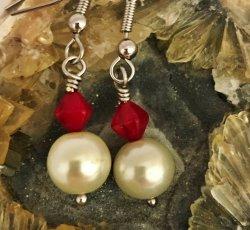 Fire & Water Hook Earrings