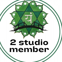 2 Studio Membership- Full Access--12 Months