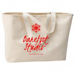 Barefoot Canvas Bag