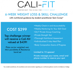 6 Week Weight Loss & Skill Challenge