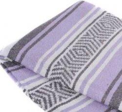 351 Yoga Blanket (Purple/Grey/White)
