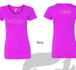 """Women's Cut NYT """"The Only thing that you have to do is BREATHE"""" T-shirt"""