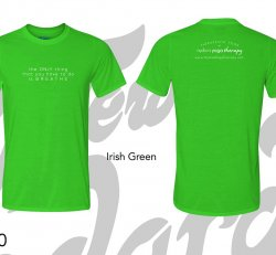 """Unisex Cut NYT """"The Only thing that you have to do is BREATHE"""" T-shirt"""
