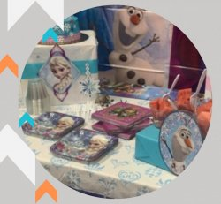 Mini Theme Package - (Themed Plates, Large & Small, Napkins and Decorated Cake Table)