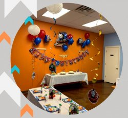 Basic Theme Package (Themed Room Decorations, Tableware, Balloons)
