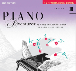 Piano Adventures Level 3B- Performance Book