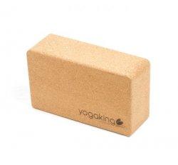 Natural Cork Yoga Block Bevel edge