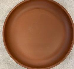 Ceramic Plate (Terra-Cotta)