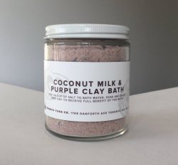 TYC - Coconut Milk & Purple Clay Bath