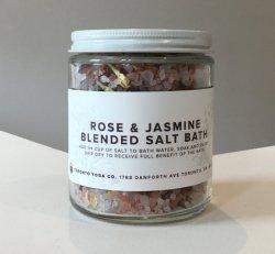 TYC - Rose & Jasmine Blended Salt Bath