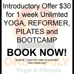 INTRO OFFER $30 for 1 Week Unlimited